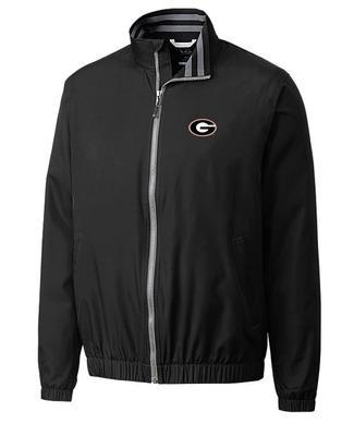 Georgia Cutter And Buck Nine Iron Full Zip Jacket