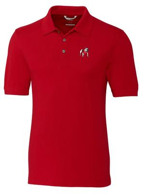 Georgia Cutter And Buck Advantage Alt Logo DryTec Polo RED