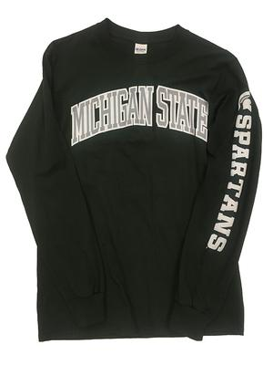 Michigan State Long Sleeve Arch Tee