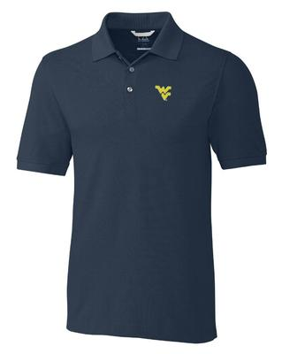 West Virginia Cutter And Buck Advantage DryTec Polo