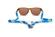 Blue And White Gobi Bottle Opener Sunglasses Strap