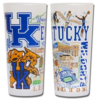 Kentucky College Town Glass