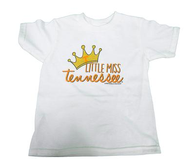 Tennessee Toddler Little Miss Tee