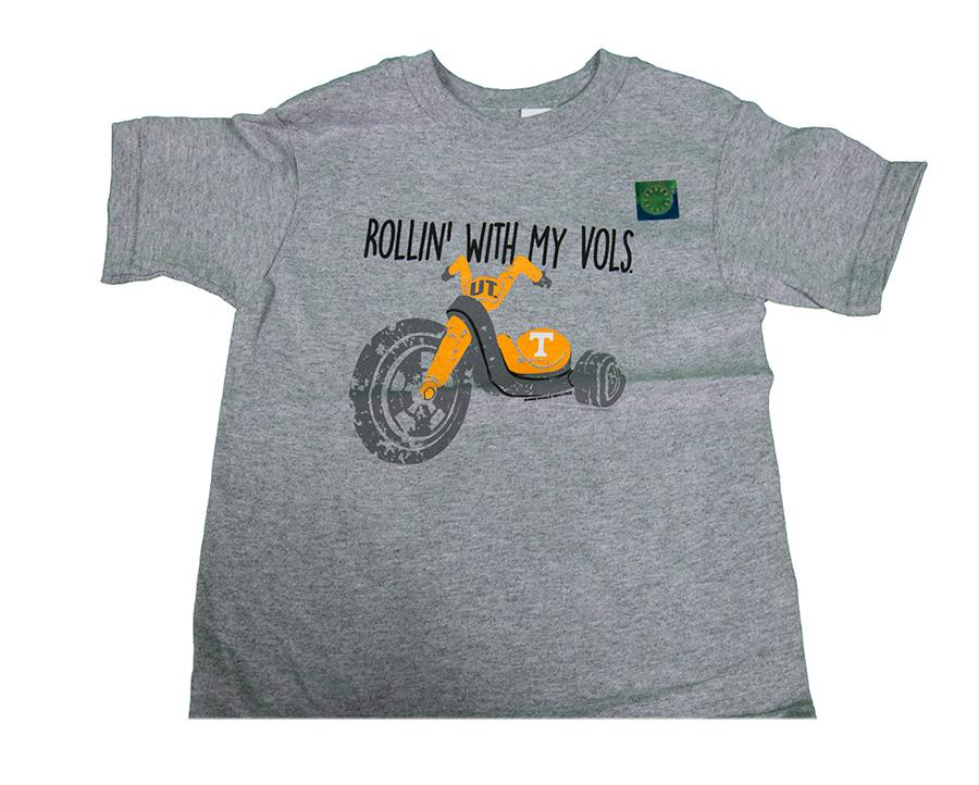 Tennessee Toddler Rollin ' Tee
