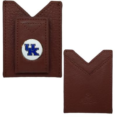 Kentucky Leather Credit Card Holder