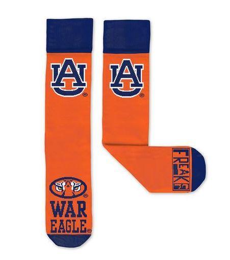 Auburn Tiger Freaker Socks