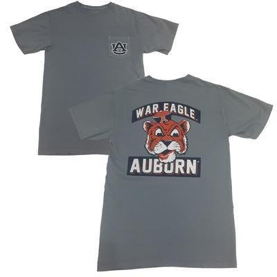 Auburn Retro Brand War Eagle Tiger Tee