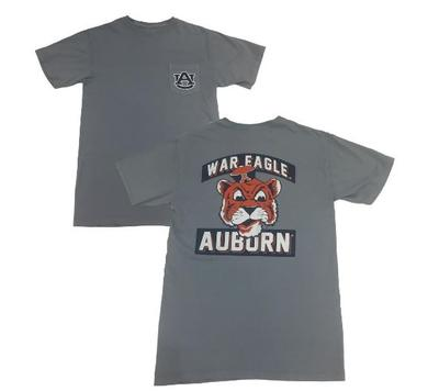 Auburn Retro Brand War Eagle Tiger Tee