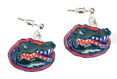 Florida Enamel Logo Earrings