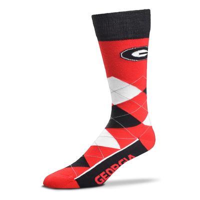Georgia FBF Originals Men's Argyle Socks
