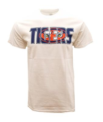 Auburn Straight Tiger Logo Tee