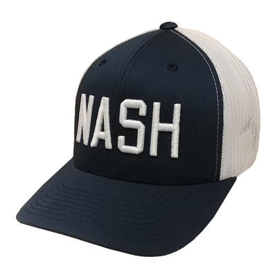 The Nash Collection NASH Navy Adjustable Trucker Hat