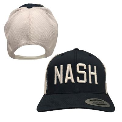 The Nash Collection NASH Adjustable Two Tone Trucker Hat