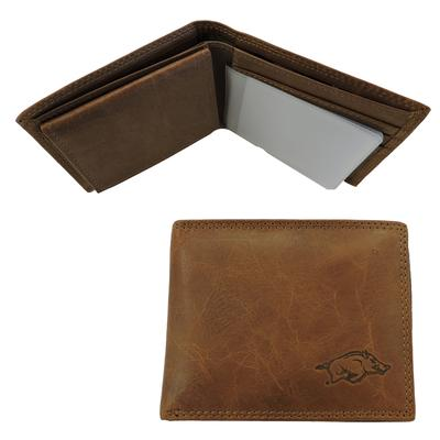 Arkansas Embossed Bifold Wallet