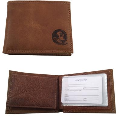 Florida State Embossed Bifold Wallet