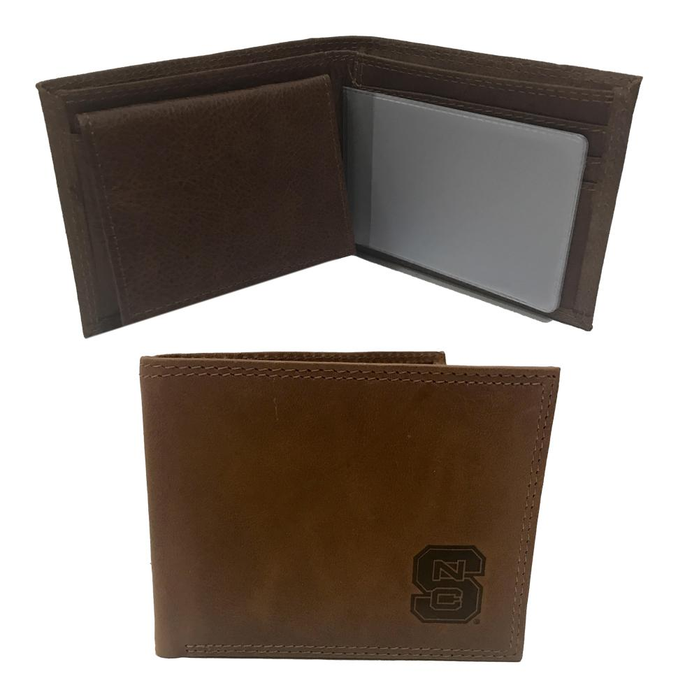 Nc State Embossed Bifold Wallet