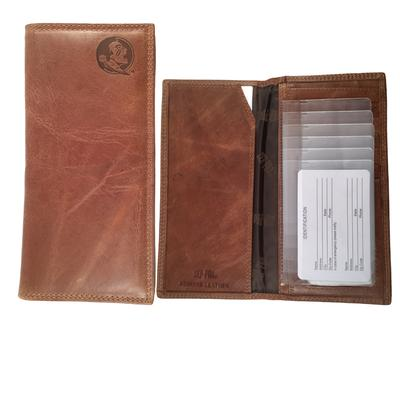 Florida State Embossed Leather Roper Wallet