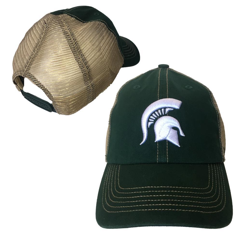 Michigan State 47 Trawler Spartan Adjustable Mesh Hat