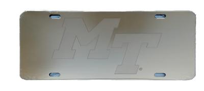 MTSU Gold Satin License Plate