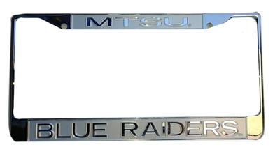 MTSU Frosted Logo License Plate