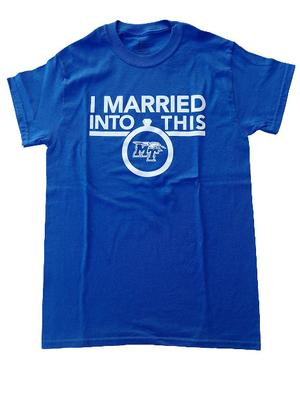 MTSU I Married Into This T-Shirt