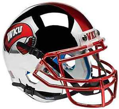Western Kentucky Chrome Mini Helmet