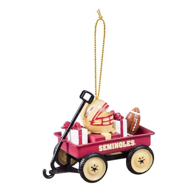 Florida State Team Gift Wagon Ornament