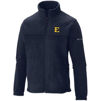 ETSU Columbia Flanker Full Zip Fleece Jacket