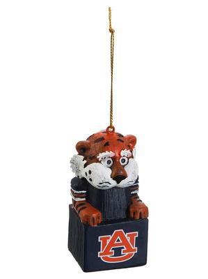 Auburn Mascot Tiki Ornament