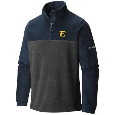 ETSU Columbia Flanker 1/4 Zip Fleece Pullover