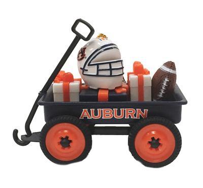 Auburn Team Gift Wagon Ornament