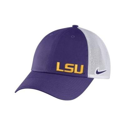 LSU Nike Women's Mesh Back Adjustable Trucker Hat