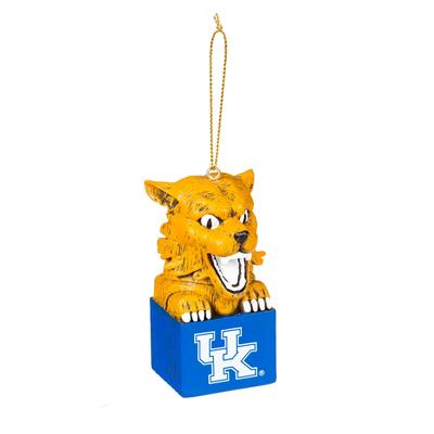 Kentucky Team Mascot Tiki Ornament