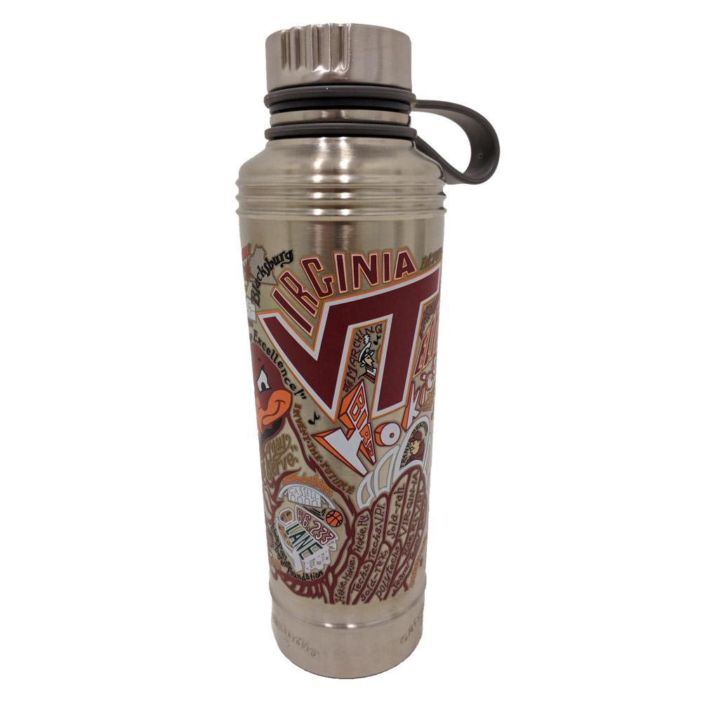 Virginia Tech Catstudio Thermal Water Bottle