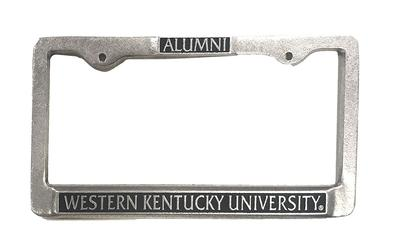 Western Kentucky Alumni License Plate Frame