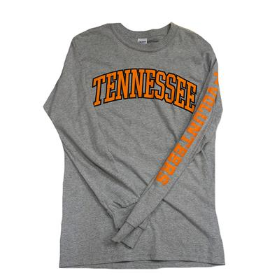 Tennessee Long Sleeve Arch Tee OXFORD