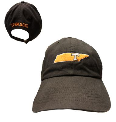 Tennessee State Outline Power T Adjustable Cap