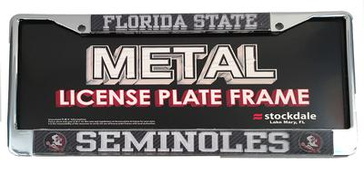 Florida State Carbon Fiber License Plate Frame