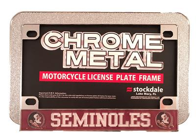 Florida State Motorcycle License Plate Frame