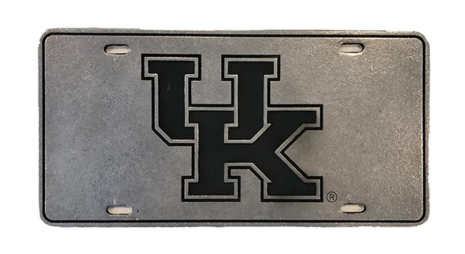 Kentucky Interlocking Uk License Plate