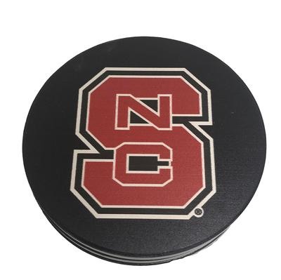 NC State Interlocking Logo Coasters