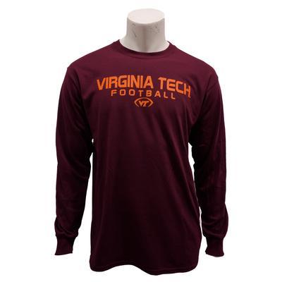 Virginia Tech Football L/S T-Shirt