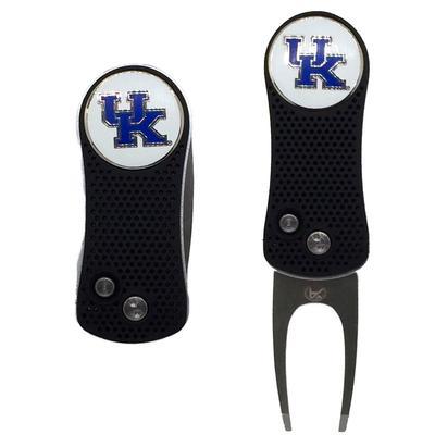 Kentucky Switch Fix Divot Tool W/ Ball Marker