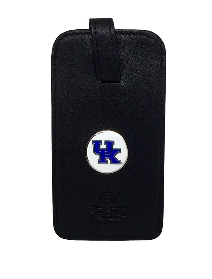 Kentucky Leather Luggage Tag