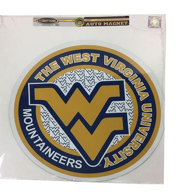 West Virginia WV Circle Magnet 12