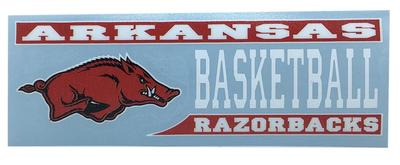 Arkansas Decal Basketball Block