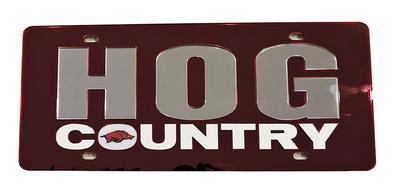 Arkansas Hog Country License Plate