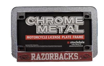 Arkansas Motorcycle License Plate Frame