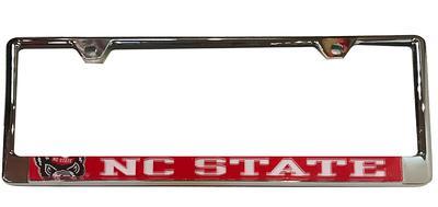 NC State Mega Logo License Plate Frame