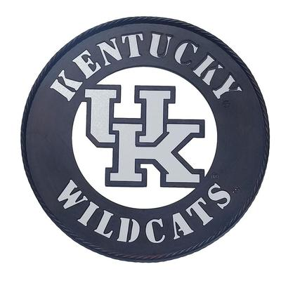 Kentucky UK Logo Metal Wall Art